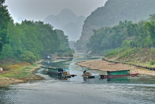 שייט בנהר בסין