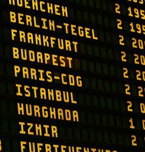 מידע על טיסות למלגה